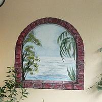 Balkonwand