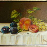 Früchtestillleben nach Emilie Preyer